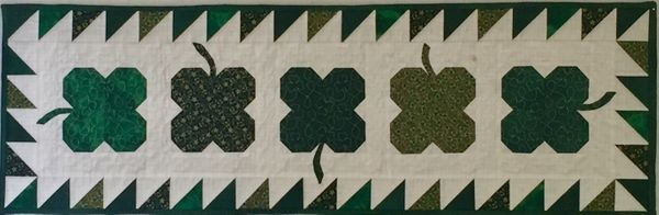 Four Leaf Clover Table Runner