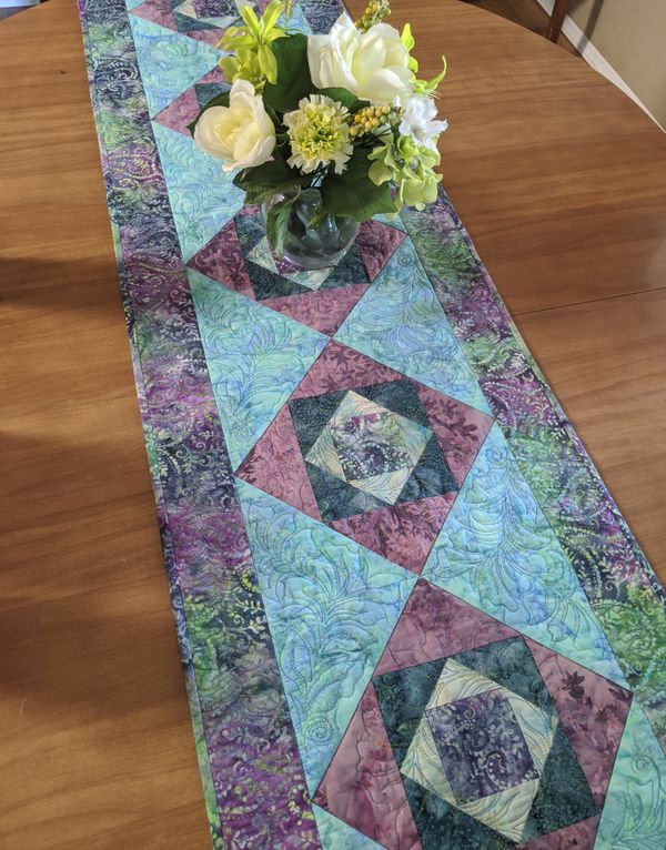 Gentleman's Fancy Table Runner & Other Goodies